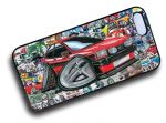 Koolart STICKERBOMB STYLE Design For Retro Mk1 Ford Fiesta XR2 Hard Case Cover Fits Apple iPhone 4 & 4s